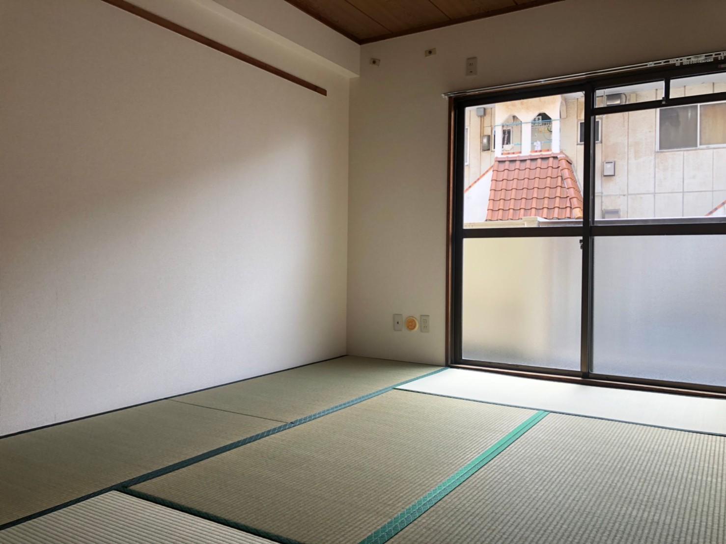 南向き6帖和室(内装)