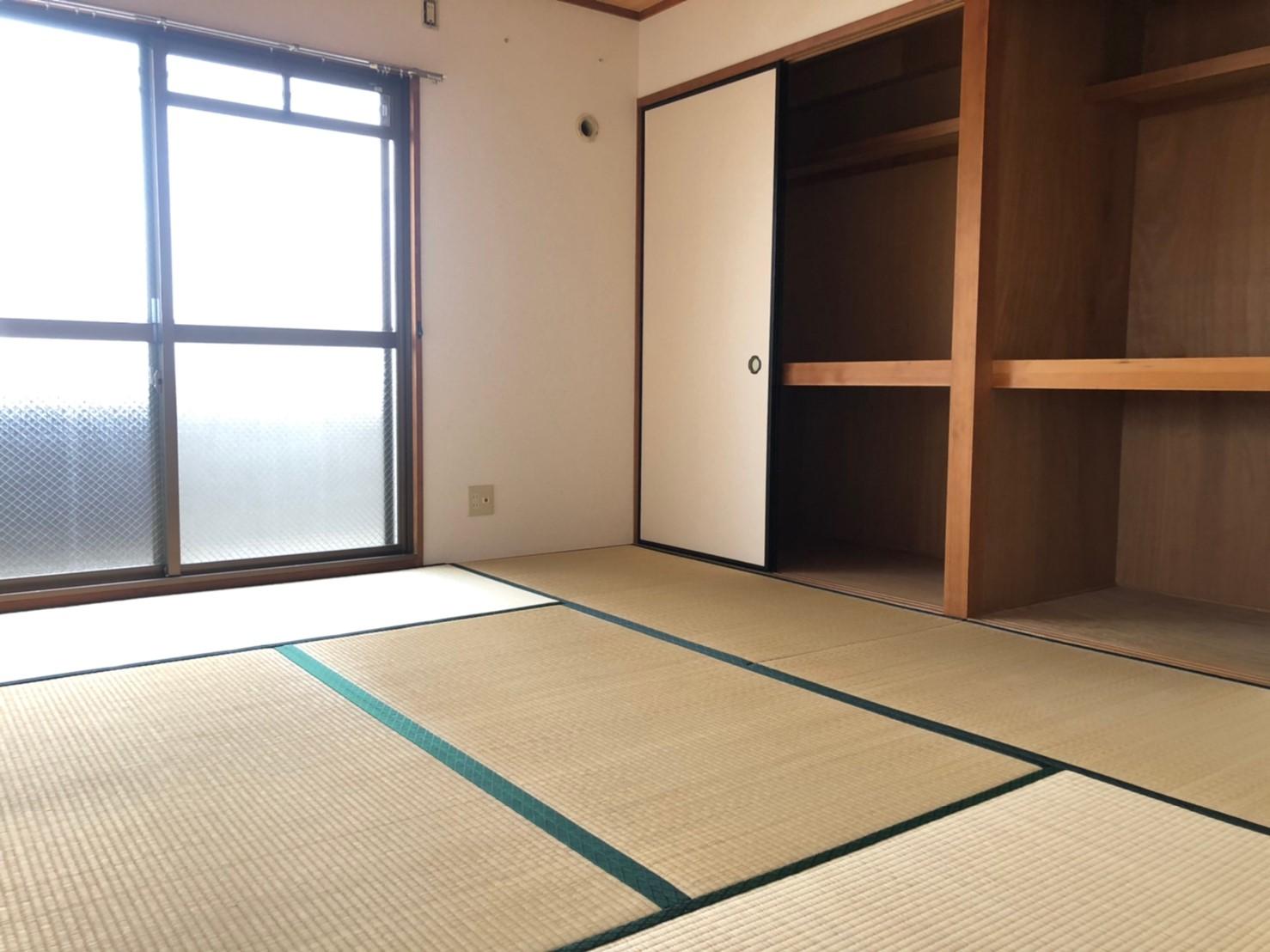 ★新しい畳に張り替えた6帖和室★(内装)