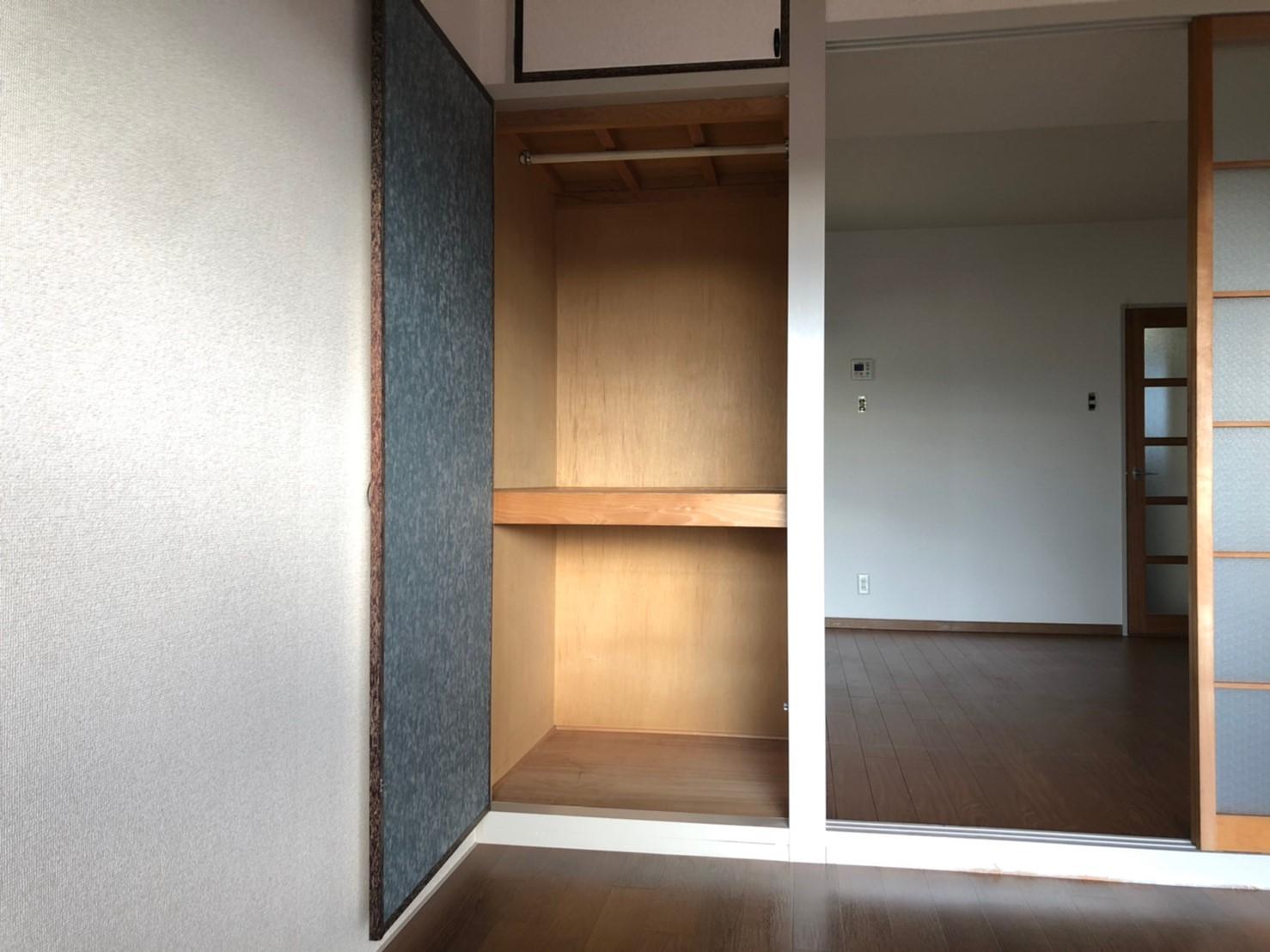 ◆6帖 洋室 収納◆(内装)